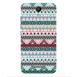 Coque Broderie Mexicaine Pour Wiko Harry