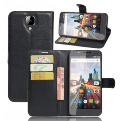 Archos 55 Helium 4 Seasons Black Wallet Case