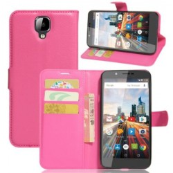 Archos 55 Helium 4 Seasons Pink Wallet Case