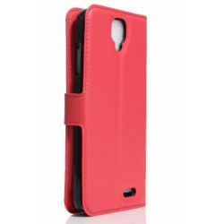 Archos 55 Helium 4 Seasons Red Wallet Case