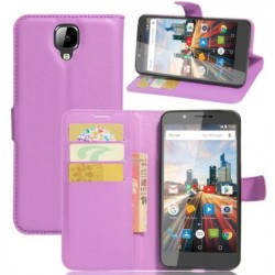 Archos 55 Helium 4 Seasons Purple Wallet Case