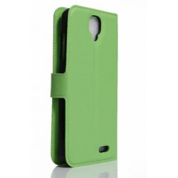 Archos 55 Helium 4 Seasons Green Wallet Case