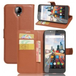 Archos 55 Helium 4 Seasons Brown Wallet Case