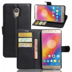 Lenovo P2 Black Wallet Case