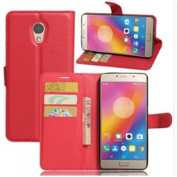 Lenovo P2 Red Wallet Case