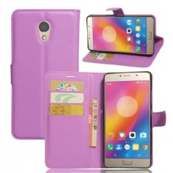 Lenovo P2 Purple Wallet Case