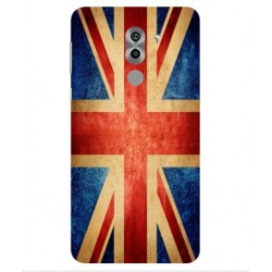 Coque Vintage UK Pour Huawei Honor 6X Pro