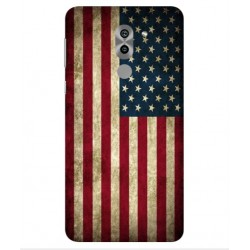 Coque Vintage America Pour Huawei Honor 6X Pro