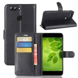 Huawei Nova 2 Black Wallet Case
