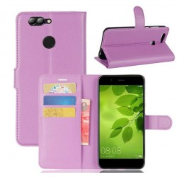 Huawei Nova 2 Purple Wallet Case