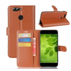 Huawei Nova 2 Brown Wallet Case