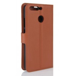 Huawei Honor 8 Pro Brown Wallet Case
