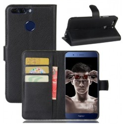 Huawei Honor V9 Black Wallet Case