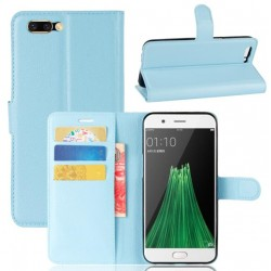Oppo R11 Plus Blue Wallet Case