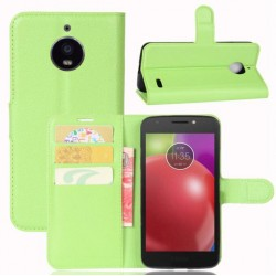 Motorola Moto E4 Green Wallet Case