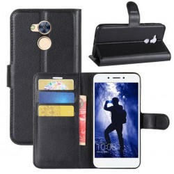 Huawei Honor 6A Black Wallet Case