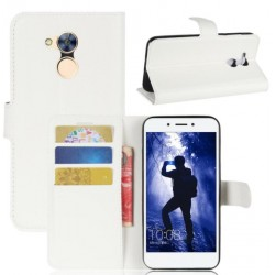 Protection Etui Portefeuille Cuir Blanc Huawei Honor 6A