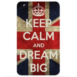 ZTE Grand X View 2 Keep Calm And Dream Big Cover