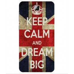 Coque Keep Calm And Dream Big Pour Altice Startrail 9