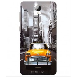 Coque New York Taxi Pour Altice Startrail 9