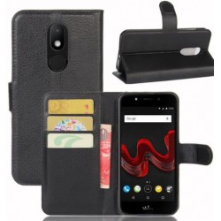Wiko Wim Lite Black Wallet Case