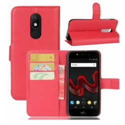 Wiko Wim Lite Red Wallet Case