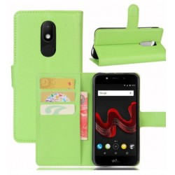 Wiko Wim Lite Green Wallet Case