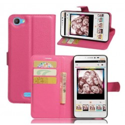 Alcatel Pixi 4 Plus Power Pink Wallet Case