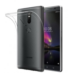 Coque De Protection En Silicone Transparent Pour Lenovo Phab 2 Plus