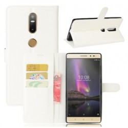 Lenovo Phab 2 Plus White Wallet Case