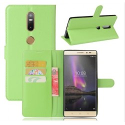 Lenovo Phab 2 Plus Green Wallet Case