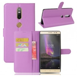 Lenovo Phab 2 Plus Purple Wallet Case