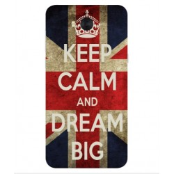 Huawei Y6 2017 Keep Calm And Dream Big Cover