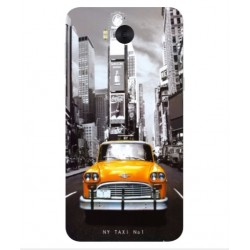 Huawei Y6 2017 New York Taxi Cover