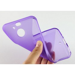 Purple Silicone Protective Case HTC 10 Evo