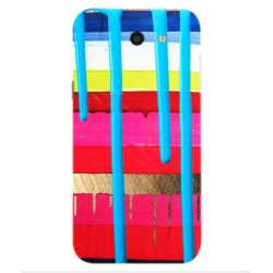 Samsung Galaxy J7 V Brushstrokes Cover