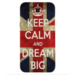 Samsung Galaxy J7 V Keep Calm And Dream Big Cover