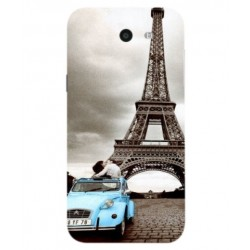 Samsung Galaxy J7 V Vintage Eiffel Tower Case