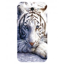 Samsung Galaxy J7 V White Tiger Cover