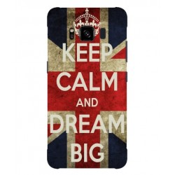Coque Keep Calm And Dream Big Pour Samsung Galaxy S8 Active