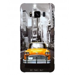 Coque New York Taxi Pour Samsung Galaxy S8 Active