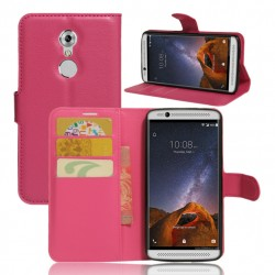 ZTE Axon 7 Mini Pink Wallet Case