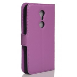 ZTE Axon 7 Mini Purple Wallet Case