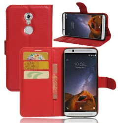 ZTE Axon 7 Mini Red Wallet Case