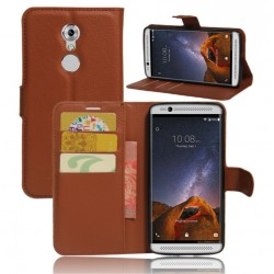 ZTE Axon 7 Mini Brown Wallet Case