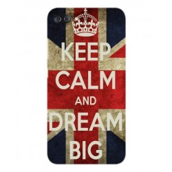 Carcasa Keep Calm And Dream Big Para Asus Zenfone 4 Max Plus ZC554KL