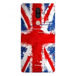 Coque UK Brush Pour Lenovo K8 Note