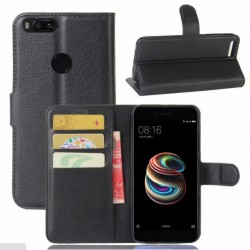 Xiaomi Mi 5X Black Wallet Case