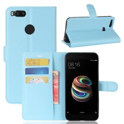Xiaomi Mi 5X Blue Wallet Case
