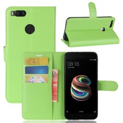 Xiaomi Mi 5X Green Wallet Case